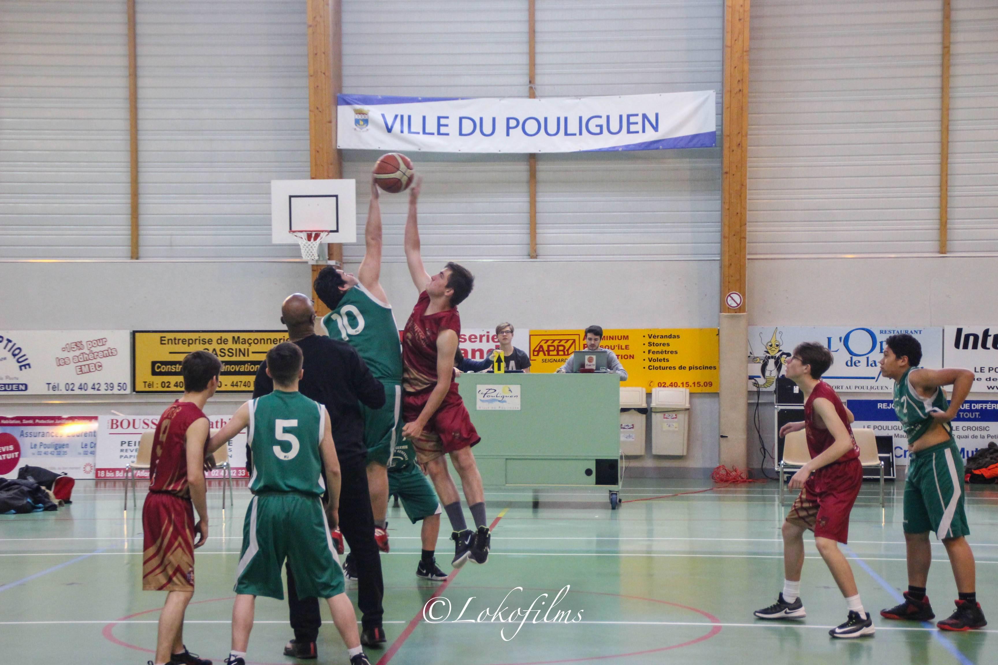 Basket U17 D3 : Espérance Mouette Basket Club # Pontchateau