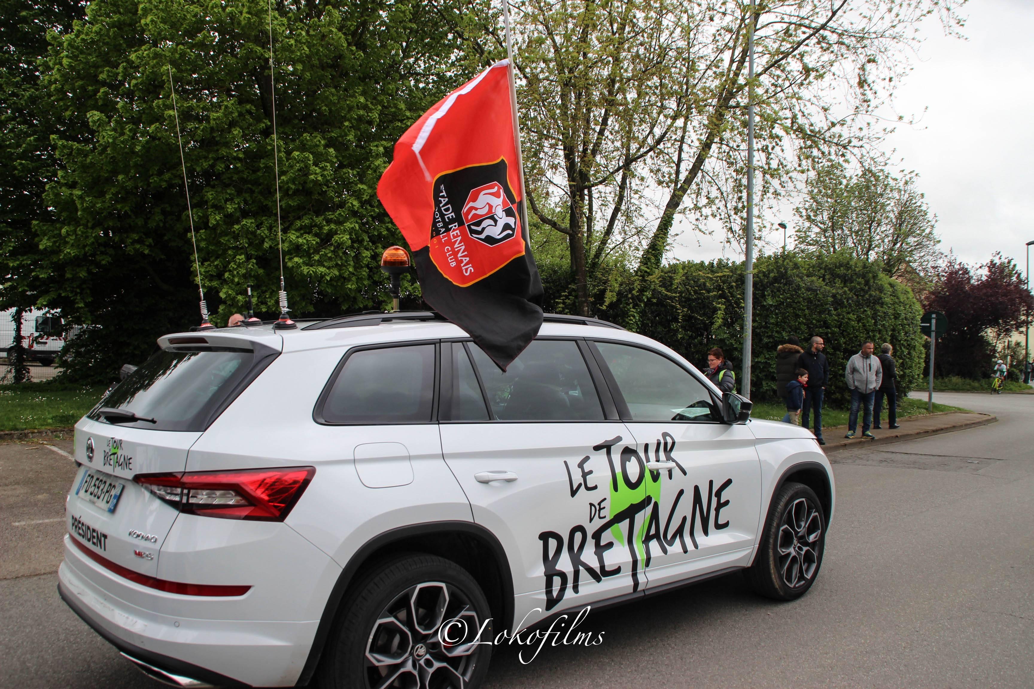 Cyclisme / Tour de Bretagne 2019 : départ de l'étape Ploermel-Châteaubriant / album photos